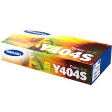Cartucho de Tóner, Samsung, CLT-Y404S, Amarillo, 1000 Páginas