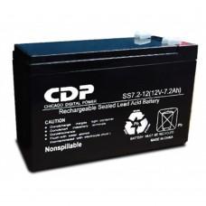 CDP - Batería par aUPS, CDP, B-12/7, 12 V, 7 Ah