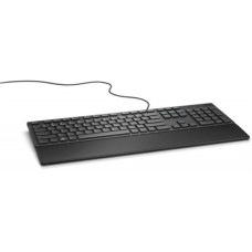 DELL - Teclado, Dell, 580-ADRC, Alámbrico, USB, Negro.