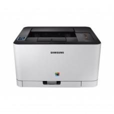 Impresora Láser, Samsung, SS230J#B16, SL-C430W, USB, Wifi, Color, 18 PPM negro, 4 PPM Color