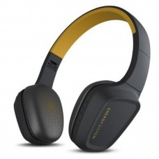 Audífonos con micrófono, Energy Sistem EY-429325, Inalámbrico, Bluetooth, Amarillo