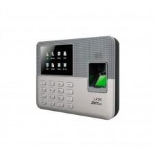 Control de Asistencia, ZKTeco, ZKT153012, Biométrico de Huella digital con pantalla LCD de 2.8 pulgadas, soporta 500 Huellas, Plata