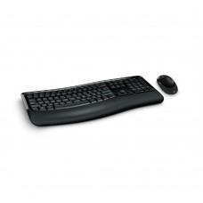 MICROSOFT - Teclado y Mouse, Microsoft, PP4-00004, Inalámbrico, USB, Negro