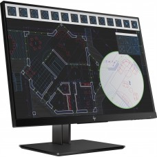 HP - Monitor LED, HP, 1JS08A4#ABA, Z24i, 24 pulgadas, 1920x1200, 60Hz, 5ms, Negro
