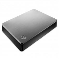 Disco Duro Externo, Seagate, STDR4000900, 4TB, USB 3.0, 2.5 Pulgadas, Plata, Backup Plus