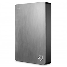 Disco Duro Externo, Seagate, STDR5000101, 5TB, USB 3.0, Plata, Backup Plus Portable,