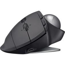 Mouse Óptico, 910-005177, MX ERGO, Inalámbrico, USB, Negro