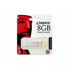 KINGSTON - Memoria USB 3.0, Kingston, DTIG4/8GB, 8 GB, Blanco - Amarillo