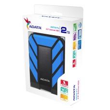 Disco Duro Externo, ADATA, AHD710P-2TU31-CBL, 2TB, USB 3.1, 2.5pulgadas, Negro-Azul