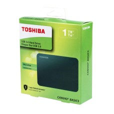 TOSHIBA - Disco Duro Externo, Toshiba, HDTC910XR3AA, 1TB, USB 3.0, 2.5pulgadas, Blanco