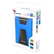 ADATA - Disco Duro Externo, Adata, AHD650-2TU31-CBL, HD650, 2 TB, USB 3.1, 2.5 pulgadas, Azul