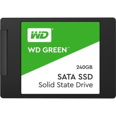 Western Digital - Unidad de estado sólido, Western Digital, WDS240G2G0A, 240 GB, SATA III, 2.5 Pulgadas
