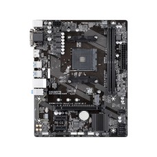 Tarjeta Madre, Gigabyte, GA-A320M-S2H, Chipset AMD A320, Micro-ATX, Socket AM4, RAM DDR4 32GB Max, Audio HD, Red, USB 3.0, SATA 3.0, 1xPCIE x16.