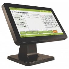 Monitor LCD, Bematech, LE1015W, 15.6 Pulgadas, 1366 x 768, 60Hz, 12 ms, Negro, Punto de Venta, Touchscreen