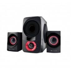 TechZone - Bocina, TechZone, TZ18BOC02BT, 2.1, 54 Watts, Bluetooth, USB , FM, Negro