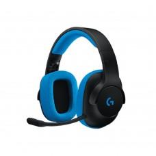 LOGITECH - Audífonos con micrófono, Logitech, 981-000702, G233, 3.5mm, Negro - Azul