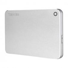 Disco Duro Externo, Toshiba, HDTW210XS3AA, 1TB, USB 3.0, 2.5 pulgadas, Plateado