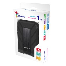 Disco Duro Externo, Adata, AHD710P-1TU31-CBK, 1TB, USB 3.1, 2.5pulgadas, Negro