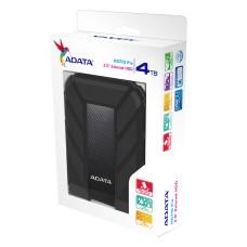 Disco Duro Externo, Adata, AHD710P-4TU31-CBK, 4TB, USB 3.1, 2.5 Pulgadas, Negro