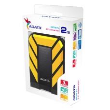 ADATA - Disco Duro Externo, Adata, AHD710P-2TU31-CYL, 2TB, USB 3.0, 2.5pulgadas, Negro-Amarillo