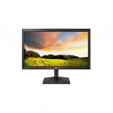 Monitor LED, LG, 20MK400A, 19.5 pulgadas, 60Hz, 2ms, Negro, VGA