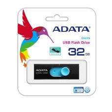 ADATA - Memoria USB 2.0, Adata, AUV220-32G-RBKBL, 32 GB, Negro - Azul