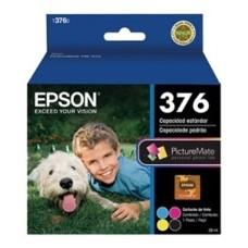 EPSON - Cartucho Fotografico, Epson, T376020-AL, Negro, Cian, Amarillo y Magenta, 39 ml