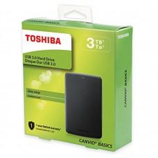 Disco Duro Externo, Toshiba, HDTB330XK3CB, 3TB, USB 3.0, 2.5pulgadas, Negro