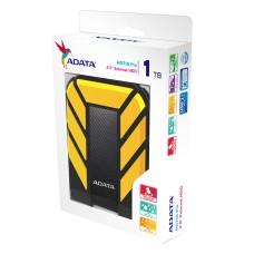 Disco Duro Externo, Adata, AHD710P-1TU31-CYL, 1TB, USB 3.1, 2.5pulgadas, Negro-Amarillo