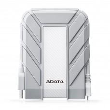 Disco Duro Externo, Adata, AHD710AP-2TU31-CWH, Portatil, 2TB, USB 3.1, 2.5 Pulgadas, A Prueba de Agua, Blanco