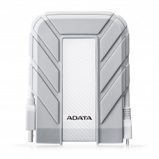 Disco Duro Externo MAC, Adata, AHD710AP-2TU31-CWH, Portatil, 2TB, USB 3.1, 2.5 Pulgadas, A Prueba de Agua, Blanco
