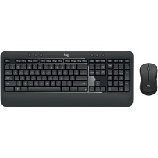 LOGITECH - Teclado y Mouse, Logitech, 920-008673, MK540, Inalámbricos, USB, Negro