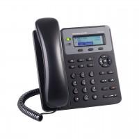 Teléfono IP, GrandStream, GXP1610, Alámbrico, 1 cuenta SIP, 2 teclas de línea, conferencia de 3 vías, Negro