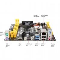 Tarjeta Madre, Biostar, A68N-5600, ChipSet AMD A68H, Mini-ITX, AMD A10-4655, RAM DDR3 32GB, Audio HD, Red, USB 3.0, SATA 3.0, 1xPCIE X16