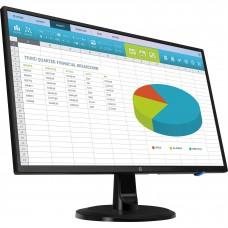 Monitor LED,  HP, 1RM28AA#ABA, 23.8 Pulgadas, 1080p, HDMI, VGA, DVI, 60Hz, 5 ms, Negro