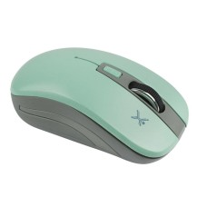 Perfect Choice - Mouse, Perfect Choice, PC-044819, 800 a 1600 DPI, Inalambrico, USB, Turquesa