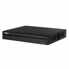 DAHUA - DVR, Dahua, XVR5104HSX, Pentahíbrido, 4 canales HDCVI 1080p, 2 canales IP adicionales hasta 6MP, RJ45, USB, SATA hasta 10 TB, Negro