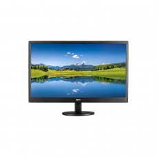 Monitor LED, AOC, E2270SWHN, 21.5 Pulgadas, 1080p, HDMI, VGA, 60Hz, 5 ms, Negro