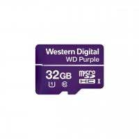 Memoria MicroSDHC, Western Digital, WDD032G1P0A, MicroSDHC, 32 GB, Clase 10, Videovigilancia