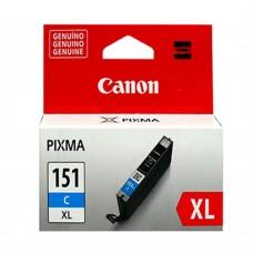 CANON - Cartucho de Tinta, Canon, 6478B001AA, CLI-151XL, Cian, 332 páginas