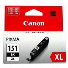 Cartucho Tanque de Tinta, Canon,  CLI-151XL BK, 6477B001AA,Negro