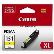Cartucho Tanque de Tinta, Canon, CLI-151XL Y, 6480B001AA, Amarillo