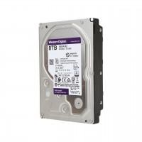 Disco Duro Interno, Western Digital, Purple, WD81PURZ, 8 TB, 5400 RPM, SATA III 6 Gb/s