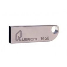 Memoria USB 2.0, Quaroni, QUF2-16G, 16 GB, Plata