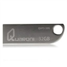 QUARONI - Memoria USB, 2.0, Quaroni, QUF2-32G, 32 GB, Plata