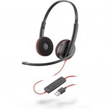 PLANTRONICS - Audífonos con micrófono, Plantronics, 209745-101 C3220 USB-A, Diadema, Alámbrico, USB, Negro