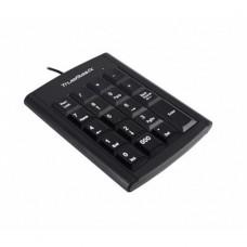 Teclado Numérico, True Basix, TB-916745, USB, Negro