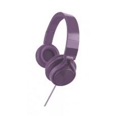 Audífonos con micrófono, Acteck, MB-02014, Mobifree Metallic, Alámbrico, Morado