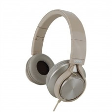 ACTECK - Audífonos con micrófono, MOBIFREE, MB-02010, Diadema, Dorado