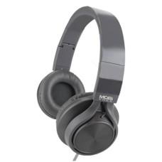 ACTECK - Audífonos con micrófono, MOBIFREE, MB-02012, Diadema, Gris